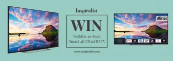 Win A Toshiba 49″ UltraHD TV