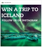 Win A Trip To Iceland – Instagram Competition