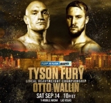 Win tickets to Tyson Fury vs Otto Wallin in Las Vegas