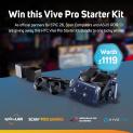 Win a Vive Pro Starter Kit