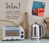 Win a Dualit Classic Toaster and Kettle and a signed copy of Anna Starmer's latest book 'Love Colour'