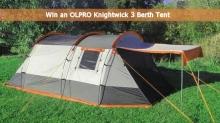 Win a £110 OLPRO Knightwick 3 Berth Tent