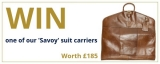 Win a Savoy suit carrier worth £185