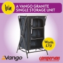 Win a Vango Granite Storage Unit