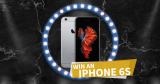Enter for free to win an iPhone 6s