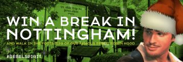 Win a break in Nottingham