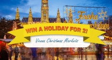 Win a holiday to the Vienna Christmas Markets – Northern Ireland Only