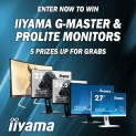 Win an iiyama monitor
