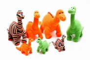 Win a bundle of knitted dinosaurs from ethical toy maker Best Years