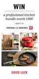 Win a professional kitchen bundle worth £900
