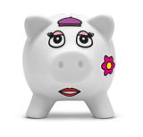 Claim your free piggy bank and win one of five £1,000 prizes