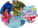 Play Tennis for Free – Great British Tennis Weekend 2018