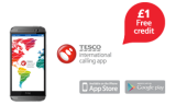 Free £1 Call Credit – Tesco International Calling App