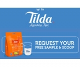 Free Tilda Rice Sample and Scoop – Caterers Only